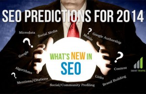 SEO advanced prediction for 2014