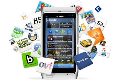 The market of Indian app downloads is rise 15 percent globally as Nokia