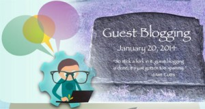 As Google webspam matt cuts Head says Guest blogging for SEO is dead