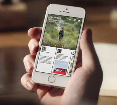 New launched Face book's news app Paper is like Flipboard with friends