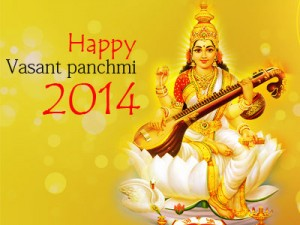 Vasant panchmi 2014 with joy & happiness