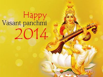 Vasant panchmi 2014 with joy & happiness