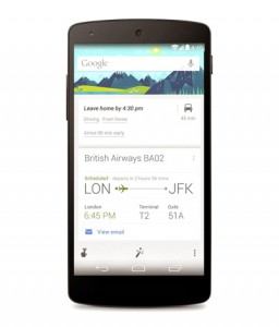 The updated app of Google is smarter with time-to-leave cards