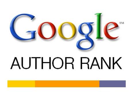 Google author rank