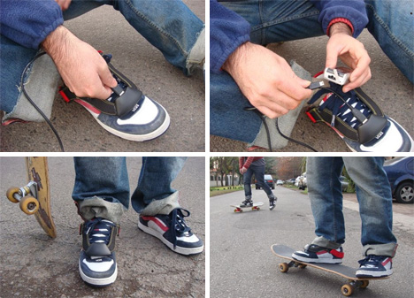 Now charge your mobile phone by walking shoes