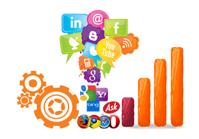 From social media sites - Method to get more website visitor
