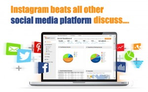 Instagram beats all other social media platform discuss….