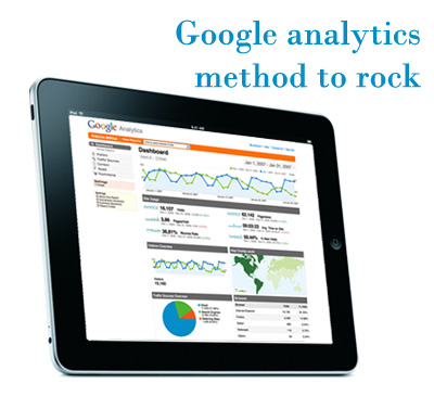 Google analytics method to rock