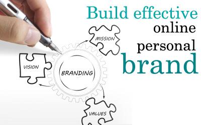 Build effective online personal brand