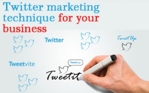 Twitter marketing technique for your business