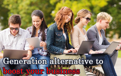 Generation alternative to boost your business