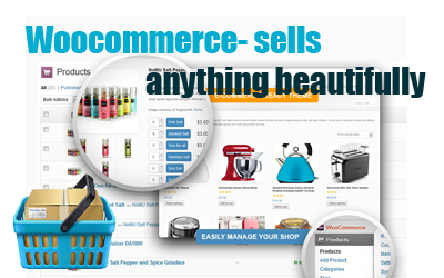 Woocommerce- sells anything beautifully