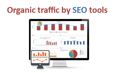 Organic traffic by SEO tools