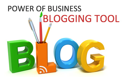 Power of business blogging tool