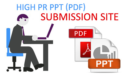 High PR PPT (PDF) submission site