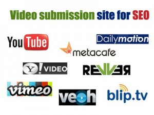 Video submission site for SEO