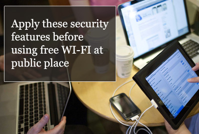 wi-fi at public place