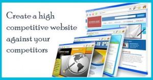 Create a high competitive website
