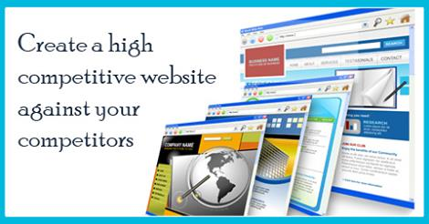 Create a high competitive website