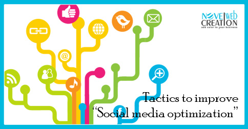 Tactics to improve Social media optimization