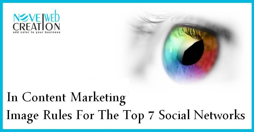 In Content Marketing Image Rules For The Top 7 Social Networks