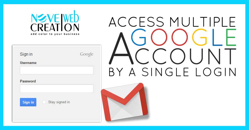 Access Multiple Google Account by a Single Login