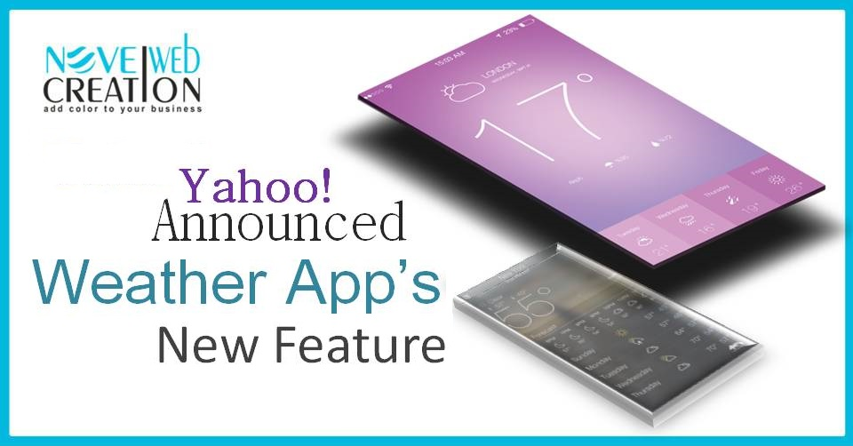 Yahoo! Weather App's New Feature Announced