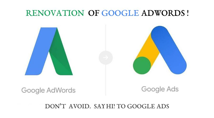 Renovation of google adwords