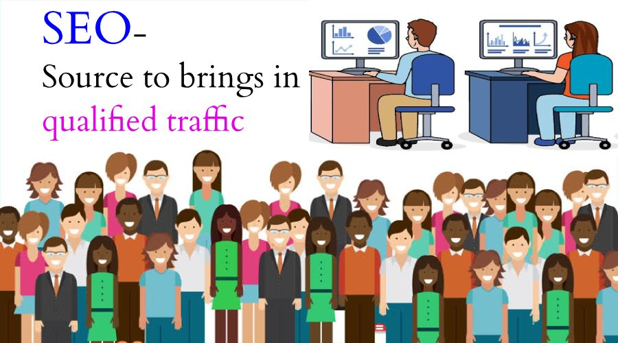 SEO- Source to brings in qualified traffic