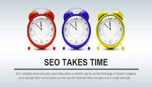 How long did the SEO Ranking take Time