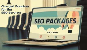 charged premium for the SEO services