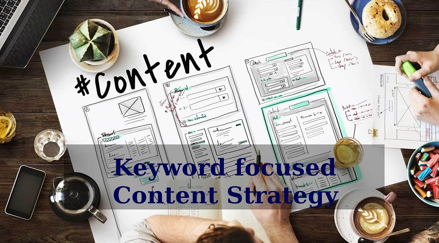 Keyword focused Content Strategy