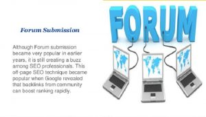 How to get started on Forum Marketing