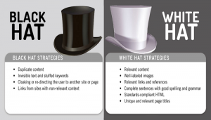 Link Building of White Hat SEO vs. Black Hat SEO