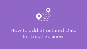 Add Local Business Structured Markup