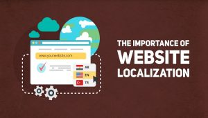 Your website is localized